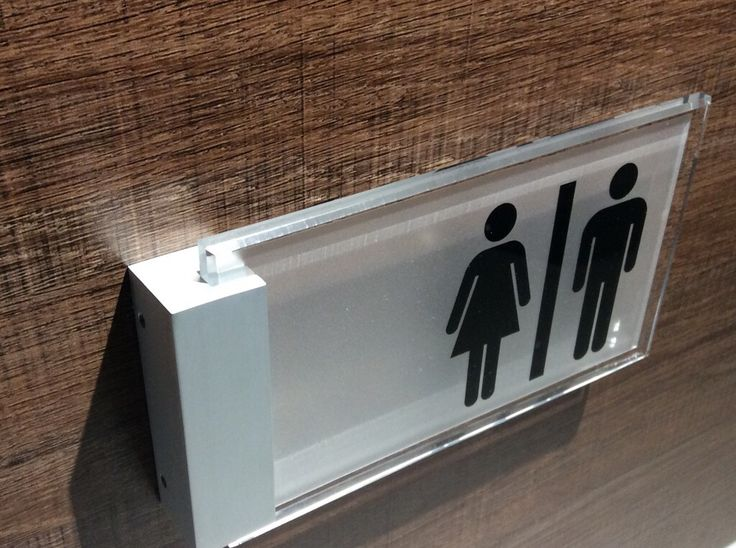 Modern Sleek Sign Design  RoomSigns  DoorSigns  toilet  RestRoom signs. Top 25 ideas about Toilet signs on Pinterest   Bathroom signs