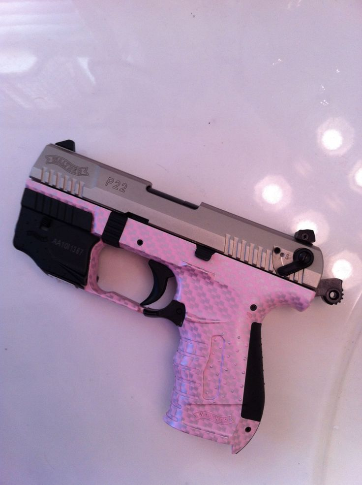 Pink P22, only because we were just talking about home invasions and I hate shot guns. 22's are easy to shoot.