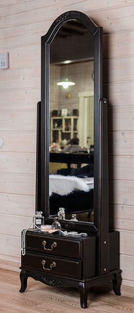 Напольное зеркало с ящиками арт.ST9122N, цена 28391,04 руб., купить Санкт-Петербург. — Tiu.ru (ID#154523545)