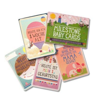 """Meilensteinkarten """"Babys + seine ersten..."""" -..."""