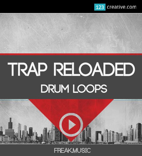 ► TRAP RELOADED - DRUM LOOPS + CONSTRUCTION KITS - a collection of 104 drum loops and 8 Construction kits for your TRAP production. This pack includes kits from 120 to 140 BPM. Every kit is key-labeled, also you get an awesome pack of drum loops, BPM-labeled. Inspired by the best trap artists in the world (Trap, Rap, Hip Hop, Dirty South): http://www.123creative.com/electronic-music-production-audio-samples-and-loops/1369-trap-reloaded-drum-loops.html