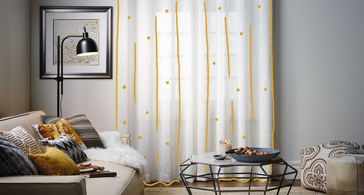 Drapery  See how stunning window coverings can make a dramatic difference to your living space.