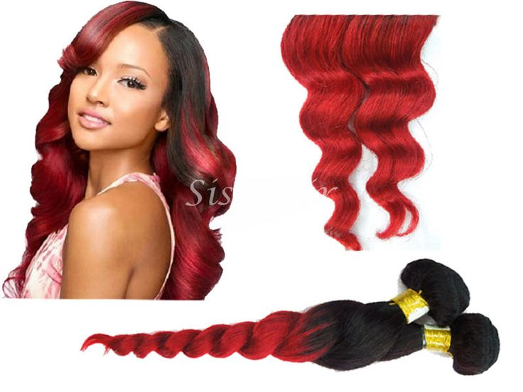 Best 25 remy hair extensions ideas on pinterest human hair ombre hair extensions brazilian remy hair loose wave t1b red httpwww pmusecretfo Choice Image