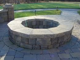 Image result for outdoor stone fire pit kits