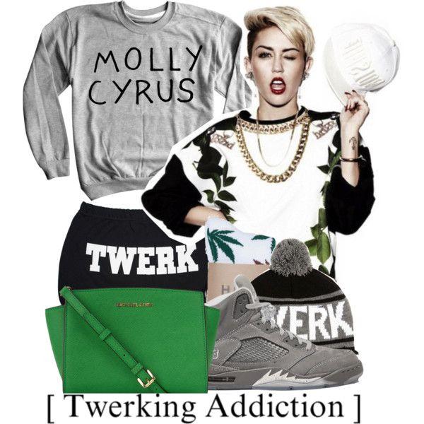 Twerk Miley Twerk, created by benginepierre on Polyvore