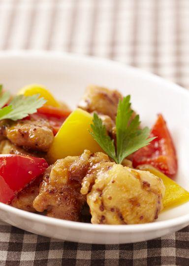 鶏のハニーマスタード焼き のレシピ・作り方 │ABCクッキングスタジオのレシピ | 料理教室・スクールならABCクッキングスタジオ
