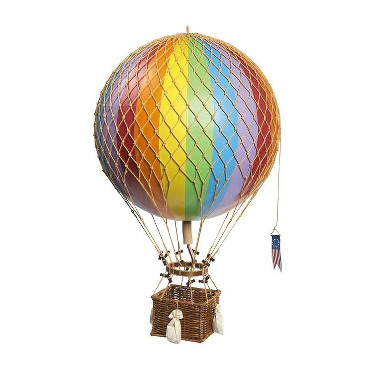 Luftballong Large - Regnbåge