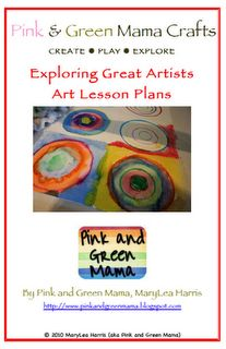 Exploring Great Artists: Art Lesson Plans by Pink and Green Mama