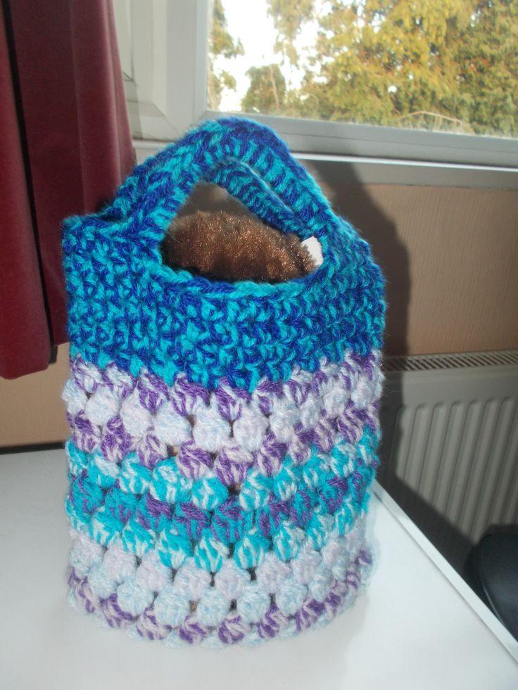 Teddy in a bag