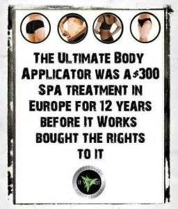 Did you know? Amazing! Click to view the It Works Global Ultimate Body Applicator! Box of 4 for just $59! https://www.facebook.com/ItWorksByTiaAlbright www.tianichole.myitworks.com tiaa631@yahoo.com (954) 253-5018