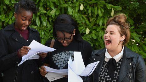 GCSE grades rise, but sharp fall in English By Sean Coughlan BBC News education correspondent