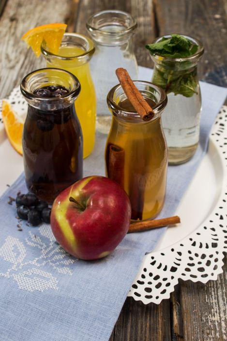 sirops simples faits maison, faciles et versatiles