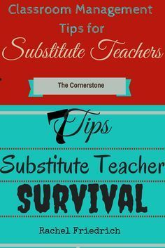 1000+ ideas about Substitute Teacher on Pinterest ...
