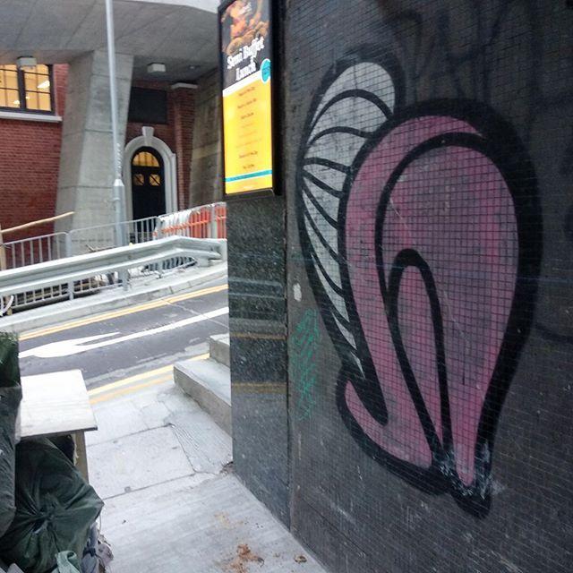 Insa Gram Still Running In Soho Central Hongkongisland Hkstreetart Hksa Hongkongstreetart Hkgraffiti Mural Muralart Spray Street Art Mural Art Art