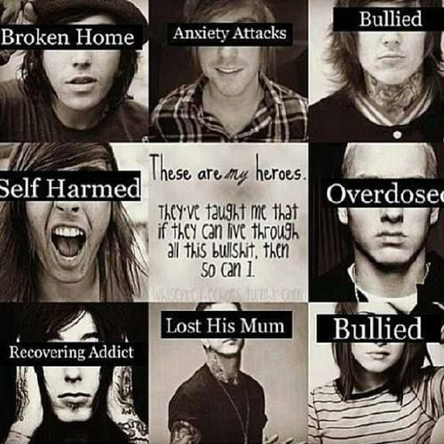 All of this I have lived thorough or done but not the Mom and the addict one