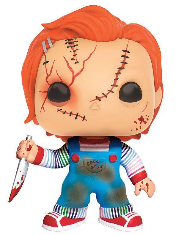 Chucky und seine Braut POP! Vinyl Figur Chucky 9 cm