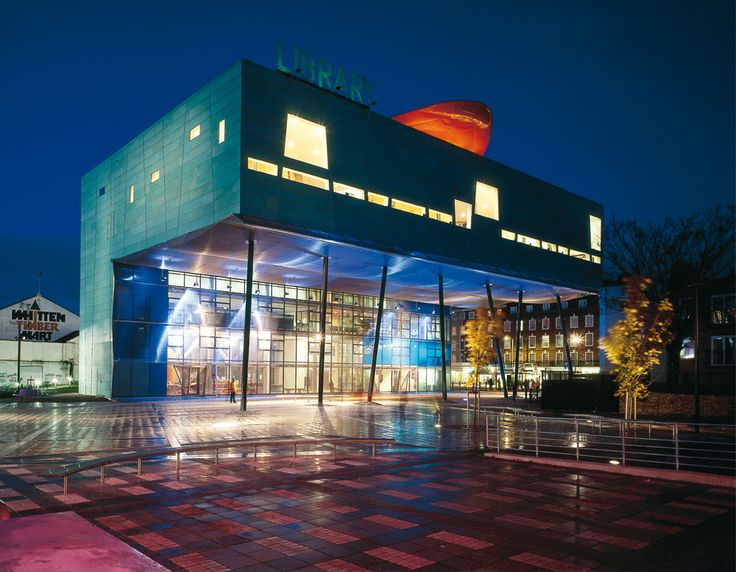 Peckham Library, East London