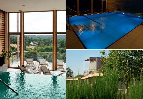 El Eco-Hôtel Spa Yves Rocher es un complejo hotelero único en su género: inspirado en todos y cada uno de los aspectos de la Naturaleza