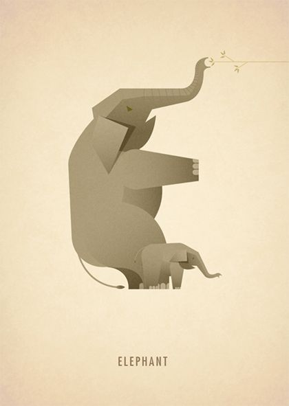 Animal Alphabet: E || Marcus Reed || http://www.marcusreed.com/