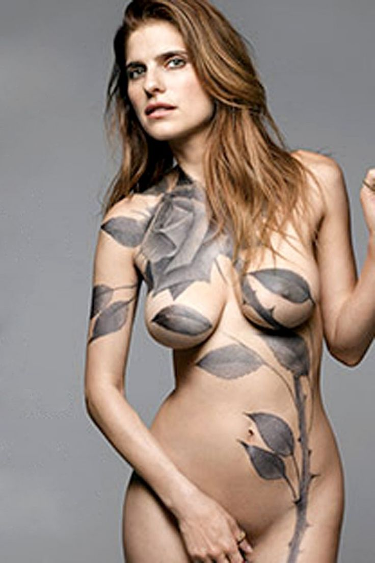 gets nude and painted for the cover of new york magazine 02 760x1140