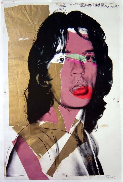 Andy Warhol - Mick Jagger  PopArt Andy Warhol Mick Jagger (orig. 1975) - Museum Moderner Kunst Wenen Mick Jagger affiche (offset-lithografie) door Andy Warhol. Published the Museum of Modern Art Wenen 2010 Titel: Mick Jagger 837 cm x 562 cm Signed in print In Mint Condition Will be send with registered mail  EUR 60.00  Meer informatie