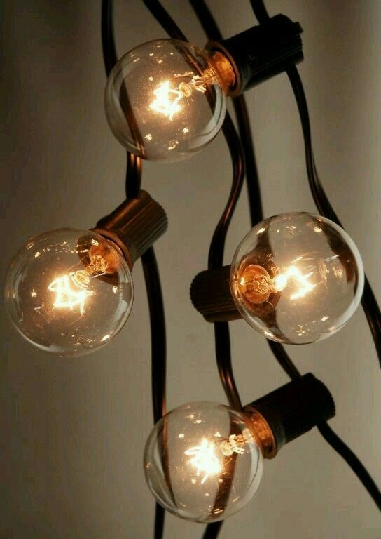 Light Bulbs On A String Magnificent 16 Best Decorative String Lights For Homebedroomyard Images On Design Ideas