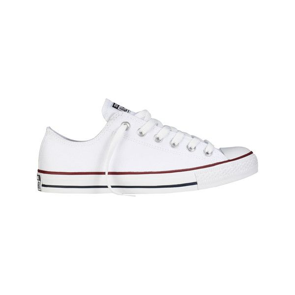 Women's Converse Chuck Taylor® All Star Core Ox - Optical White Casual ($50) ❤ liked on Polyvore featuring shoes, sneakers, optical white, converse shoes, converse oxford, converse trainers, converse footwear and oxford shoes