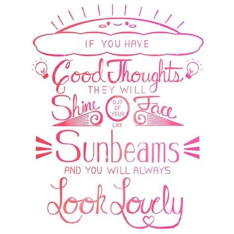 Feeling sunny today despite being soggy from walking my furbabies in the rain. Sydney spring weather! :)