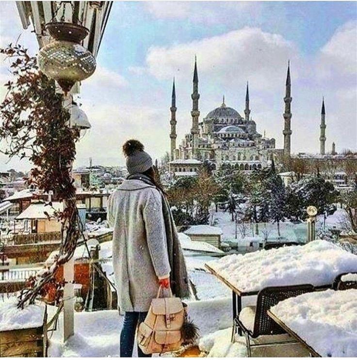 Istanbul , kar
