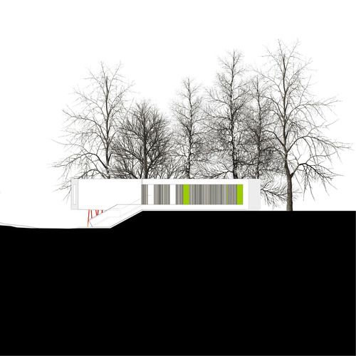 ODOS ARCHITECTS - MAYTREE SIDE ELEVATION