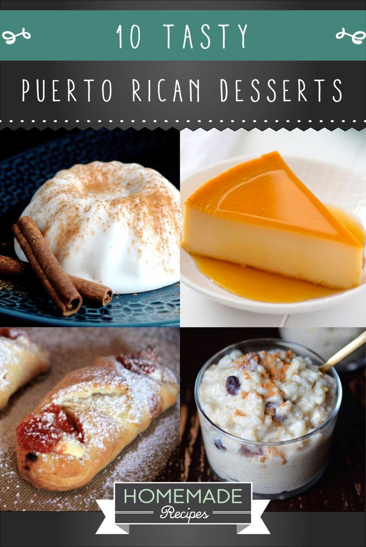 10 Puerto Rican Desserts To Give Your Life Some Flavor | How To Make Traditional Sweets From The Hispanic Kitchen - Easy Spanish Food Tutorial |  http://homemaderecipes.com/10-puerto-rican-desserts/