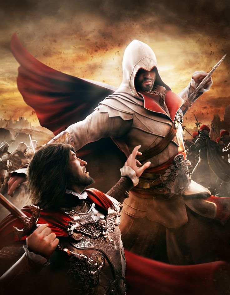 Assassin's Creed: Brotherhood. Definitely one of my favorites so far and I'm on three with Connor and I love it!!!.