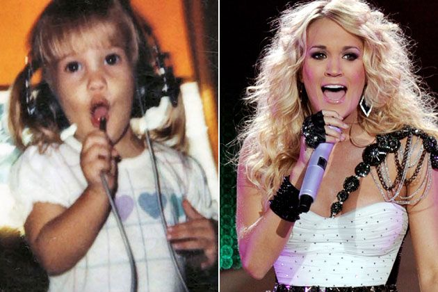 Carrie Underwood as a Kid