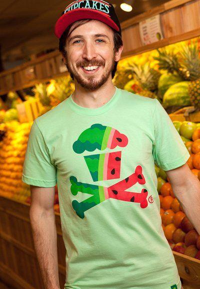 1) Watermelon Crossbones - Johnny Cupcakes