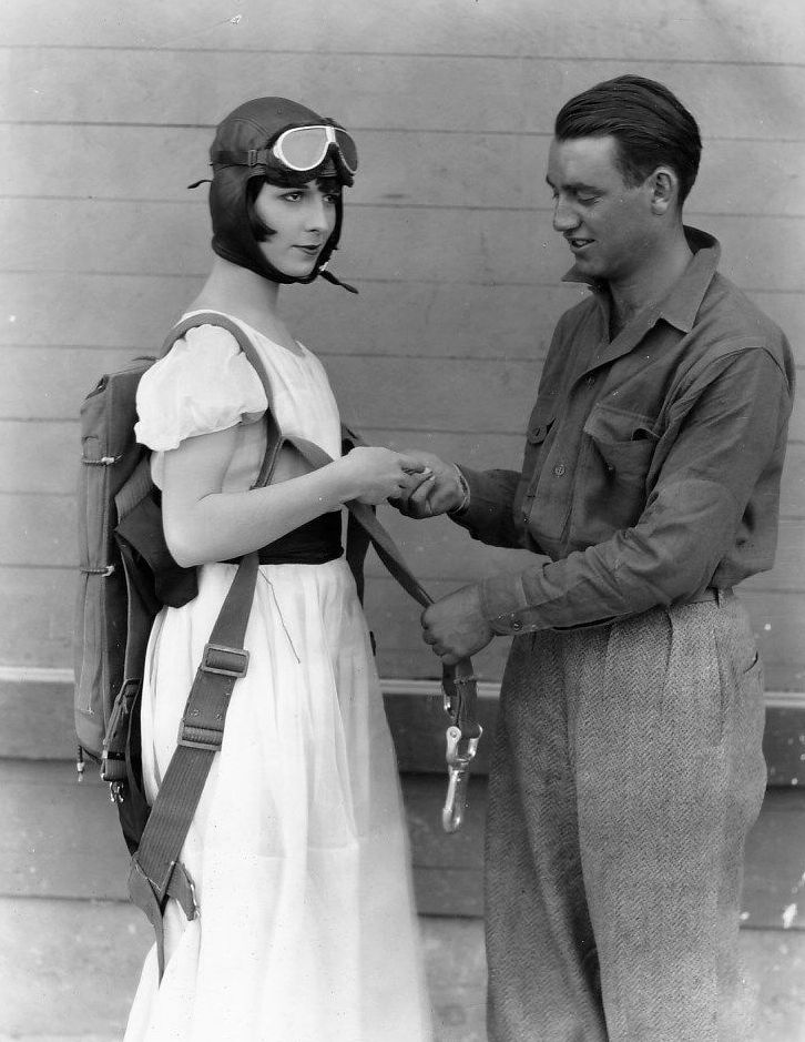 Louise Brooks stays grounded before she goes sky high