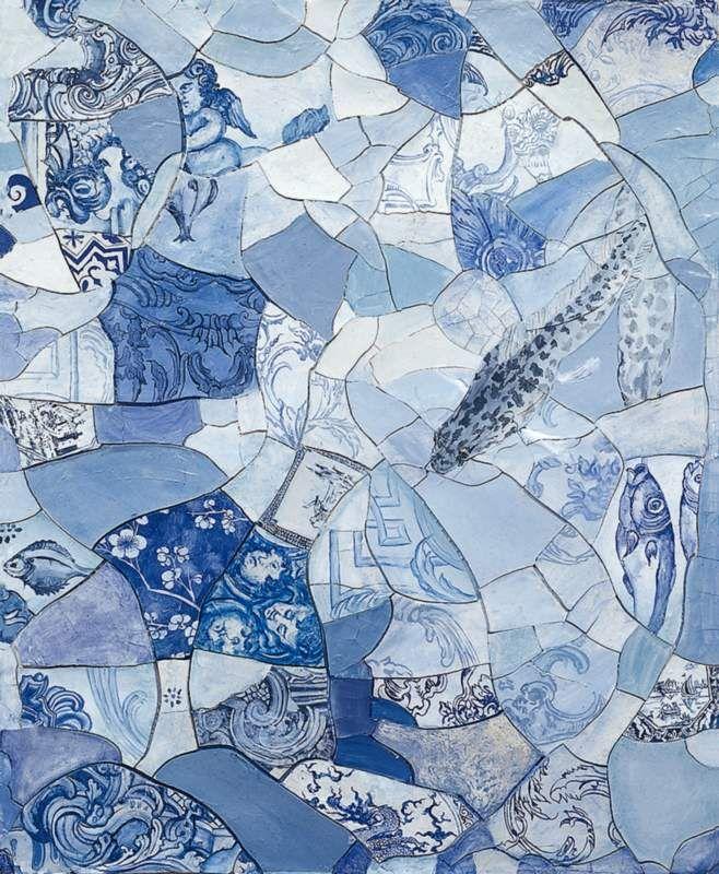 Adriana Varejão Mares e azulejos