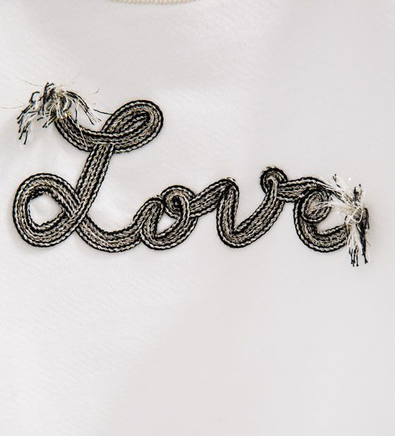 Image 5 de Sweat « Love » de Zara