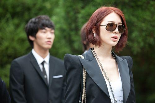 yoon eun hye (+balmain blazer!!)