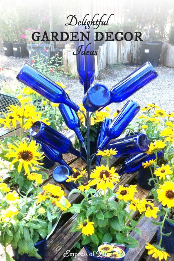 Garden Decor Ideas 1444 best garden art * junk * decor ♥ images on pinterest