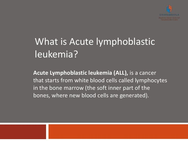 What is Acute Lymphoblastic Leukemia? by Dharamshila #Blood and #Marrow Stem Cell Transplantation Centre via slideshare