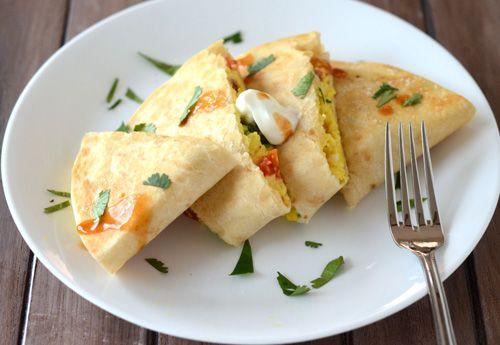 hearty breakfast quesadilla inspired by our favorite breakfast spot ...