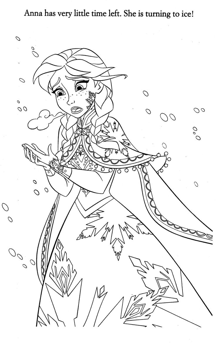 41 best images about reine des neige on pinterest disney - Coloriage de frozen ...
