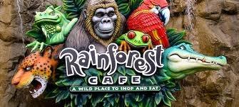 Rainforest Cafe, Downtown Disney(land) District, Anaheim, California