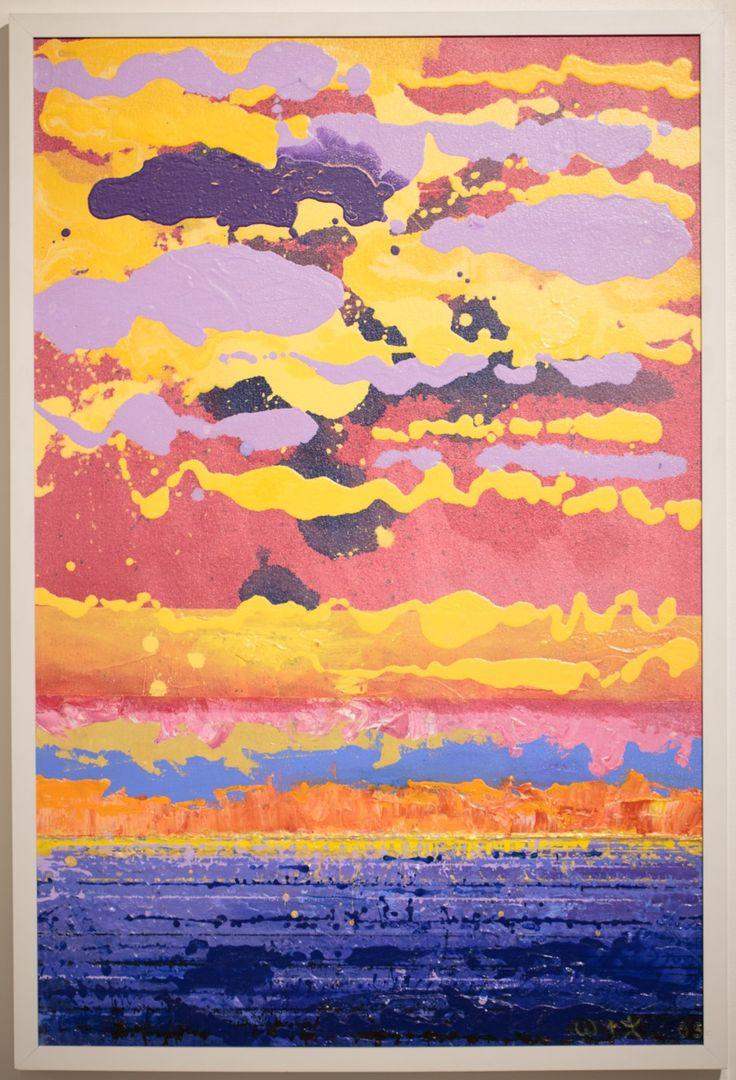 Sky Drama by Wallace Crossman