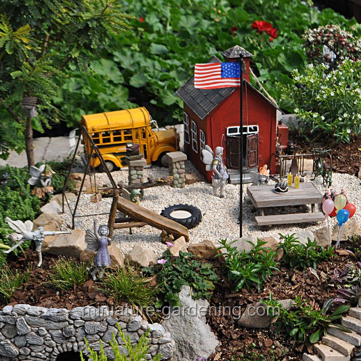 2804 Best Miniature Fairy Gardens Images On Pinterest