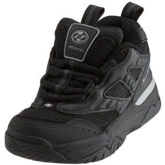 Heelys Little Kid/Big Kid Escape Skate Shoe,Black/Charcoal/Silver,4 M US Big Kid Heelys. $67.99