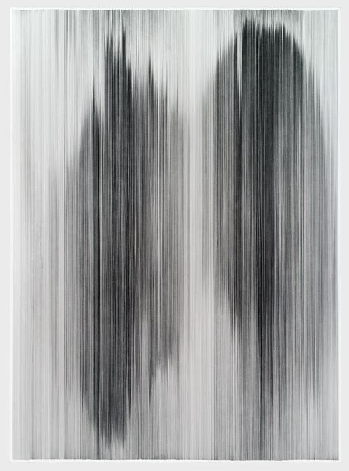 ANNE LINDBERG | Parallel 38, 2013 | graphite on cotton mat board | 60 by 84 inches