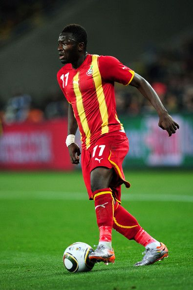 Abdul Rahim Ayew, also know as Ibrahim, Ghanaian footballer who plays as a defensive midfielder. He is a free transfer but he plays for Ghanaian National Team.