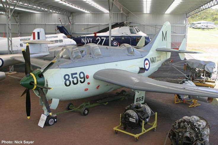 QAM AIRCRAFT COLLECTION, Fairey Gannet AS Mk I XA331 c/n F9223 pictured after repaint February 2006. Photograph Nick Sayer.