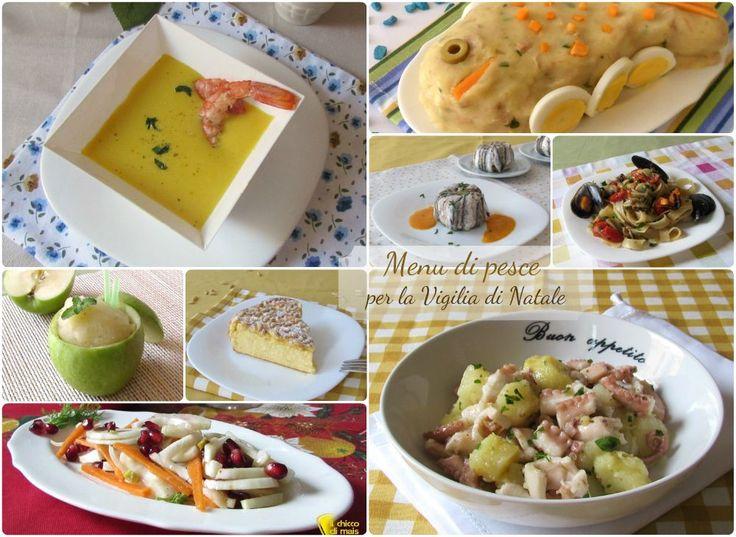 Menu per la vigilia di Natale 10 ricette di pesce